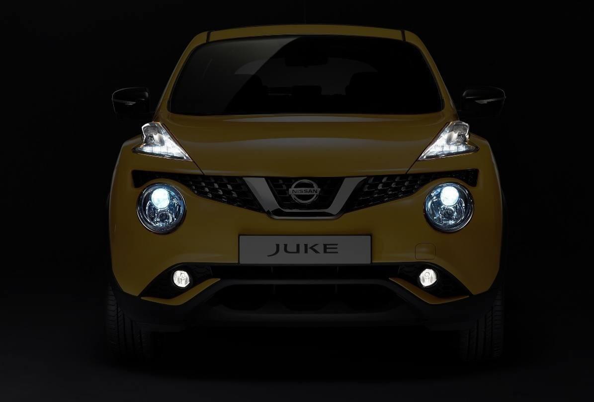 European nissan juke previews deeply cool led designs for Nissan juke licht