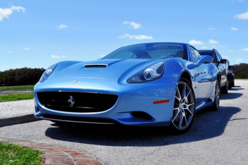 Ferrari California 30 Edition GIF high nose