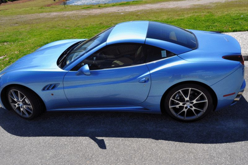 Ferrari California 30 Edition GIF high prof