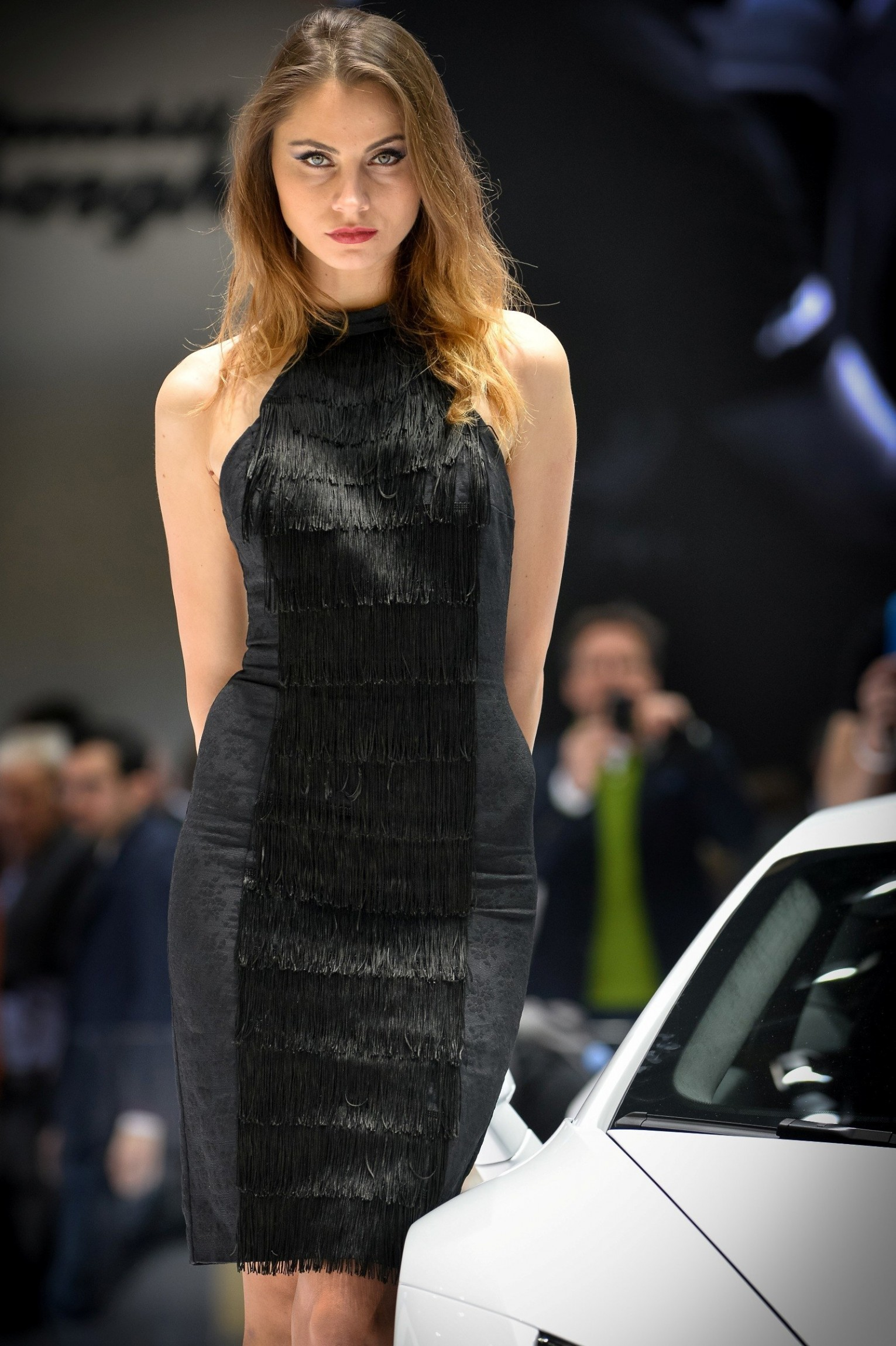 Pebble Beach Car Show >> Geneva Booth Babes 2014
