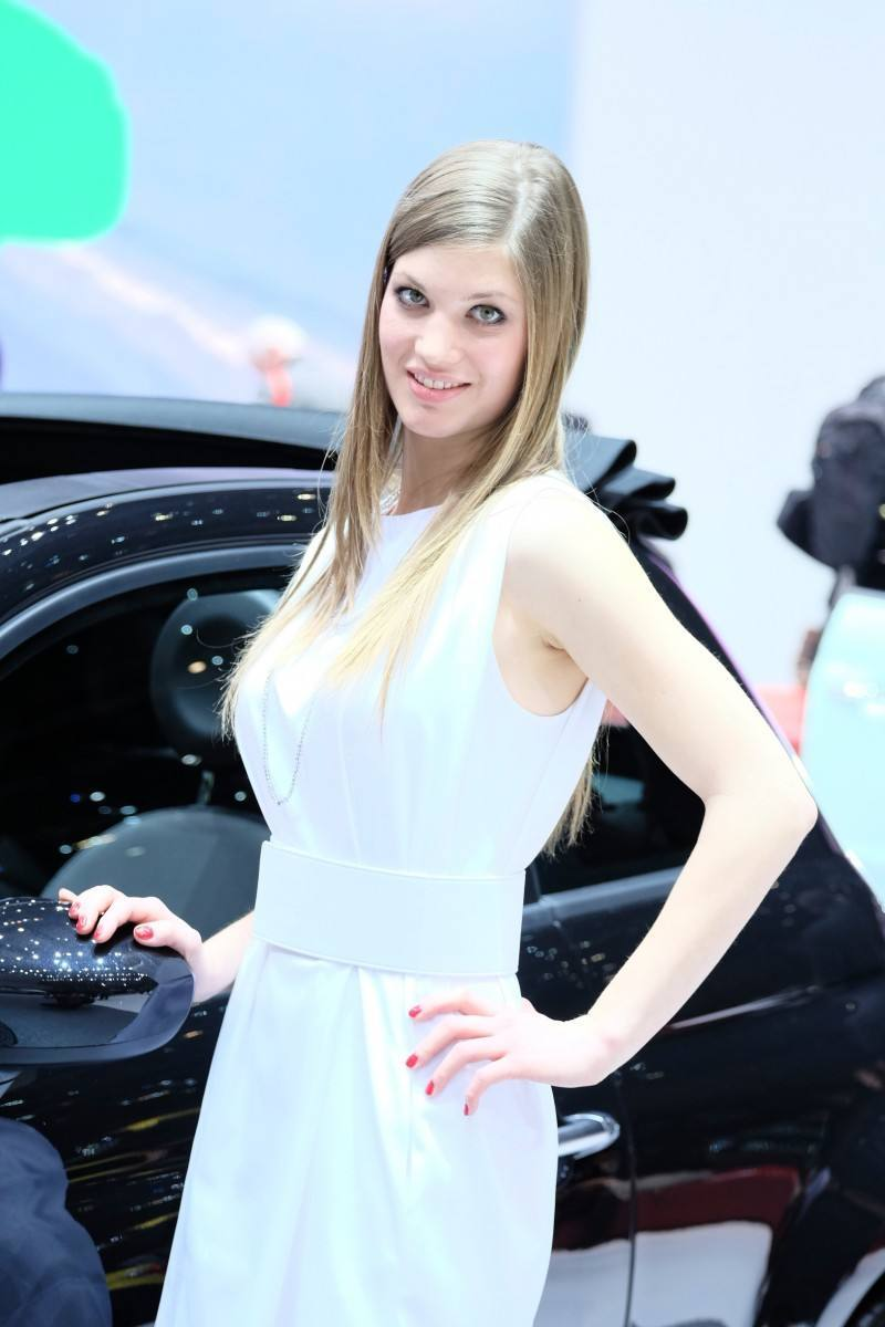 Geneva 2014 Booth Babes Teach MasterClass in Slinky, Camera-Ready Pouts -- 15 Ultra-HR Photos 11