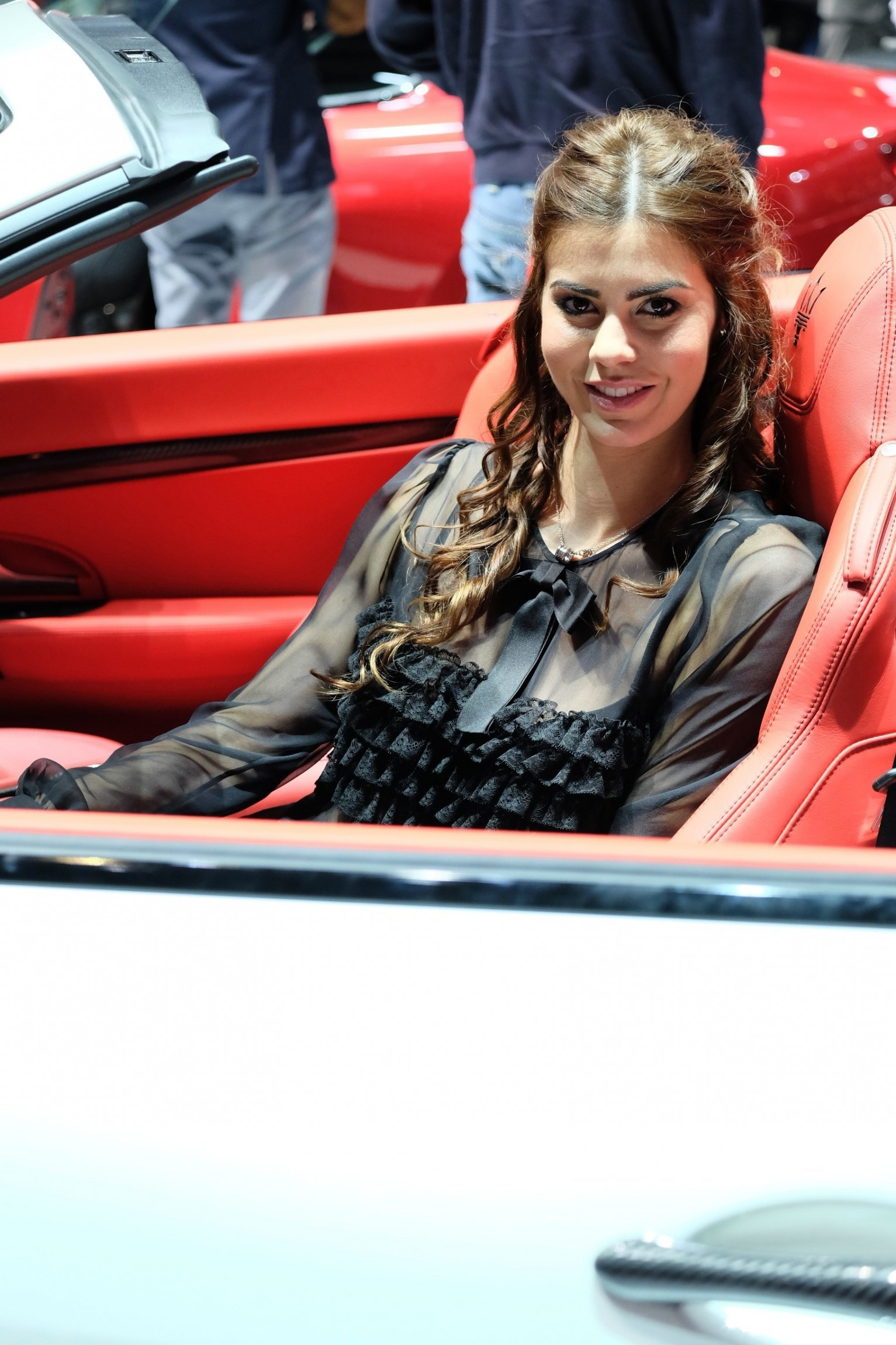 In Car Camera >> Geneva Booth Babes 2014
