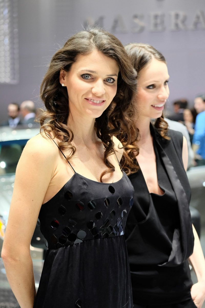 Geneva 2014 Booth Babes Teach MasterClass in Slinky, Camera-Ready Pouts -- 15 Ultra-HR Photos 7