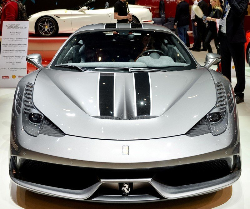 Geneva 2014 ShowFloor -- Ferrari California T, 458 Speciale and F12 Looking Brilliant 1