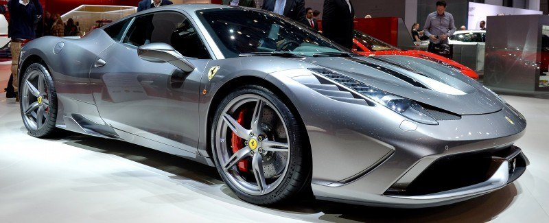 Geneva 2014 ShowFloor -- Ferrari California T, 458 Speciale and F12 Looking Brilliant 8