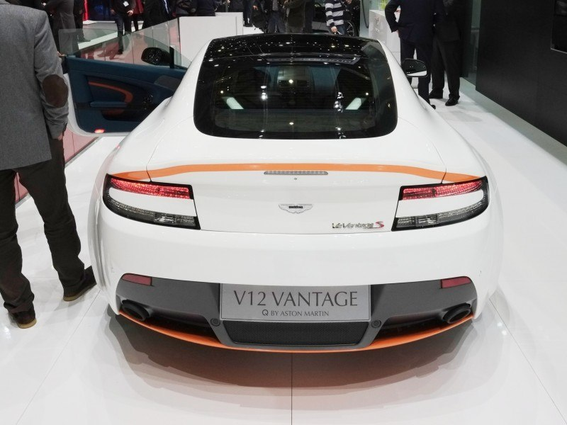 Geneva 2014 ShowFloor Gallery -- Aston Martin Rapide S and Vantage S V12 Wearing N420-Inspired Livery 3