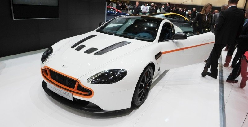 Geneva 2014 ShowFloor Gallery -- Aston Martin Rapide S and Vantage S V12 Wearing N420-Inspired Livery 5