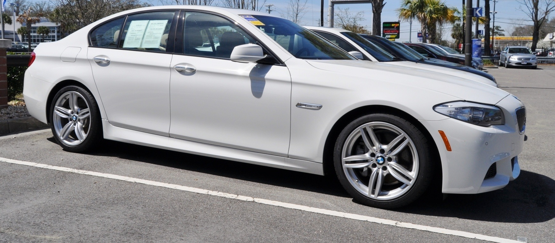 HD Video Road Test -- 2013 BMW 535i M Sport RWD -- Refined but Still Balanced, FAST and Posh 5