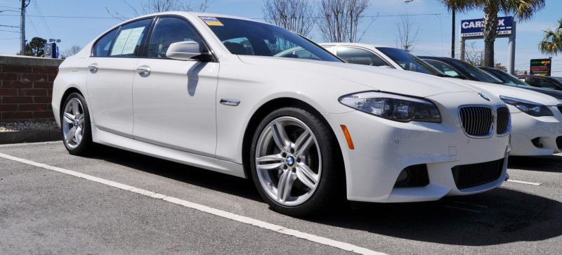 HD Video Road Test -- 2013 BMW 535i M Sport RWD -- Refined but Still Balanced, FAST and Posh 6