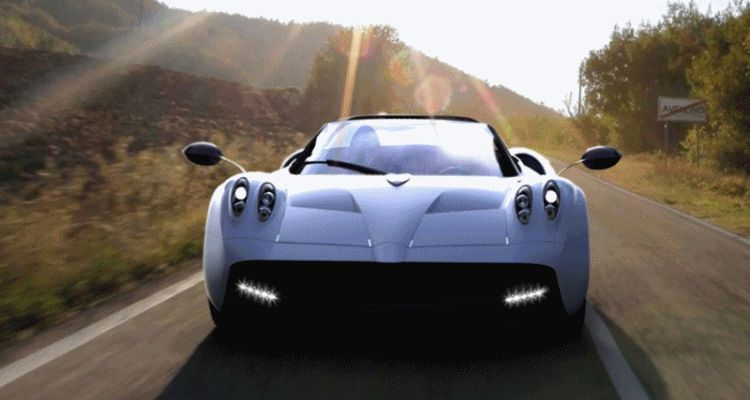 HUAYRA ROADSTER BY ALDO SICA  header gif