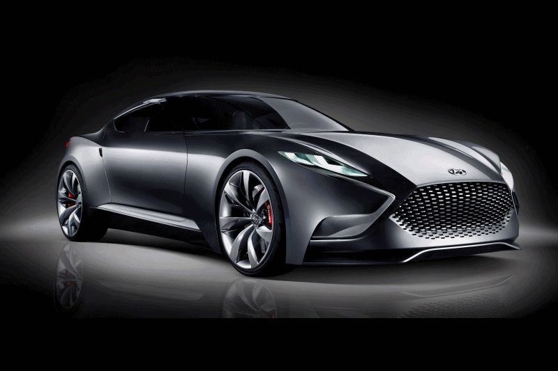 HYUNDAI Coupe Designs HND-9 animated gif