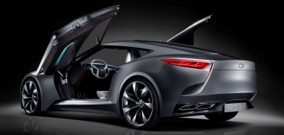 HYUNDAI Coupe Designs i-ONIQ and HND-9 12