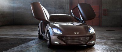 HYUNDAI Coupe Designs i-ONIQ and HND-9 2