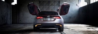 HYUNDAI Coupe Designs i-ONIQ and HND-9 4
