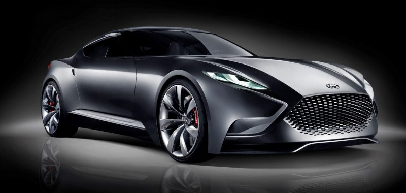 HYUNDAI Coupe Designs i-ONIQ and HND-9 9