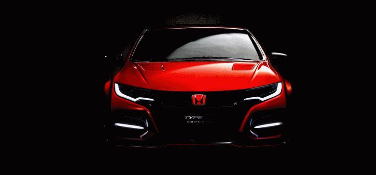 Honda CIvic Type R COncept GIF 2