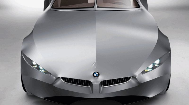 Hood Animation - 2006 BMW Concept GINA - GIF