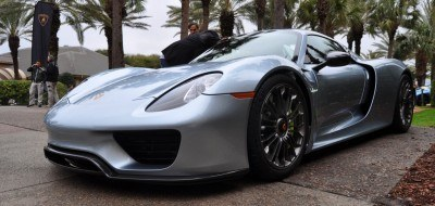 HyperCar HyperGalleries!  2015 Porsche 918 Spyder -- 77 All-New, High-Resolution Photos From All Angles 10