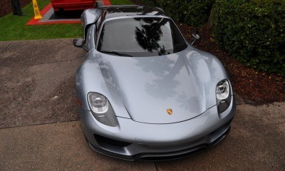 HyperCar HyperGalleries!  2015 Porsche 918 Spyder -- 77 All-New, High-Resolution Photos From All Angles 23