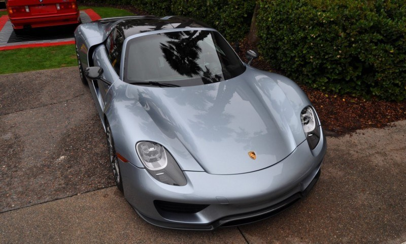 HyperCar HyperGalleries! 2015 Porsche 918 Spyder -- 77 All-New, High-Resolution Photos From All Angles 24