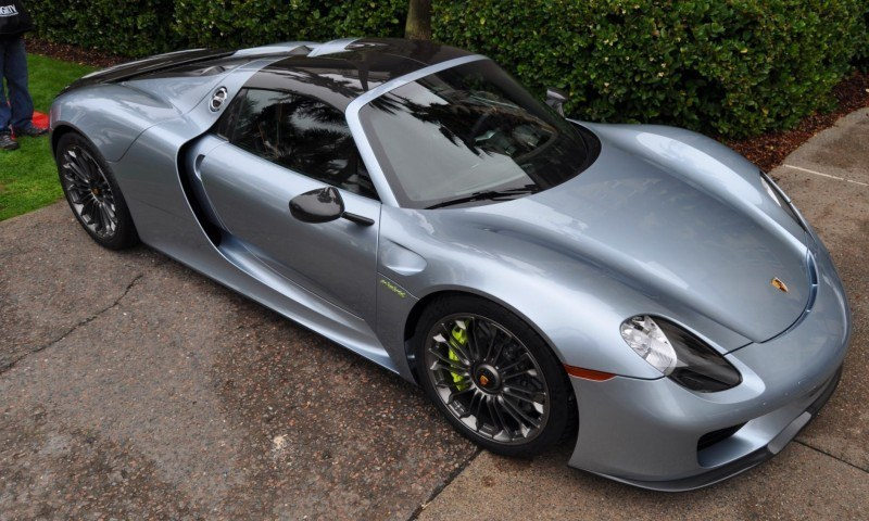HyperCar HyperGalleries! 2015 Porsche 918 Spyder -- 77 All-New, High-Resolution Photos From All Angles 27