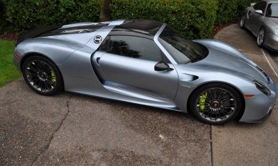 HyperCar HyperGalleries! 2015 Porsche 918 Spyder -- 77 All-New, High-Resolution Photos From All Angles 30