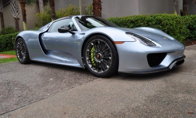 HyperCar HyperGalleries!  2015 Porsche 918 Spyder -- 77 All-New, High-Resolution Photos From All Angles 31