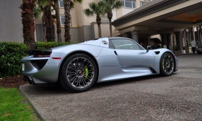 HyperCar HyperGalleries!  2015 Porsche 918 Spyder -- 77 All-New, High-Resolution Photos From All Angles 37