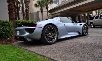 HyperCar HyperGalleries! 2015 Porsche 918 Spyder -- 77 All-New, High-Resolution Photos From All Angles 38
