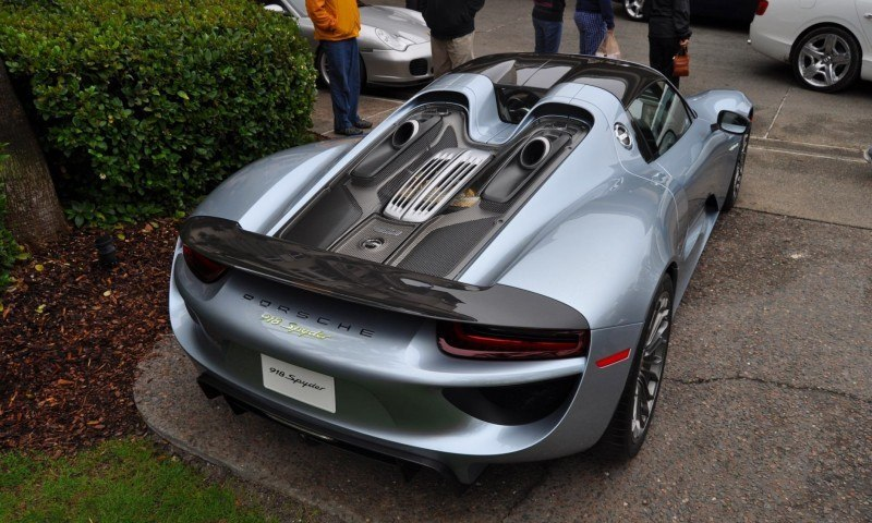 HyperCar HyperGalleries! 2015 Porsche 918 Spyder -- 77 All-New, High-Resolution Photos From All Angles 52