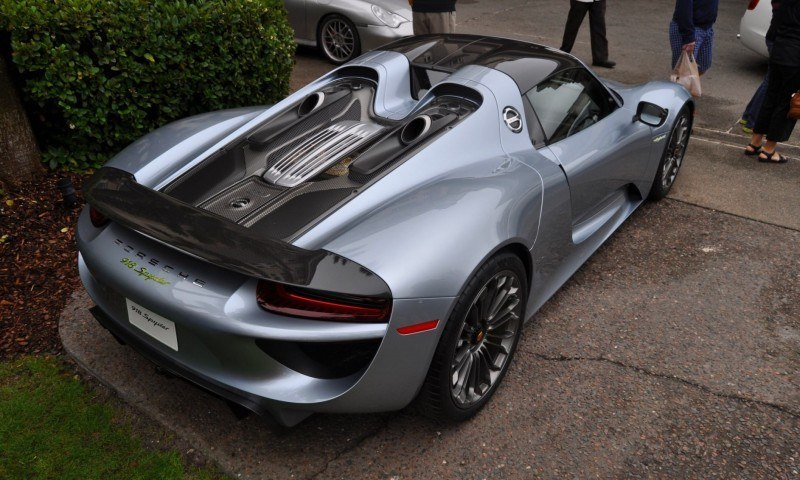 HyperCar HyperGalleries! 2015 Porsche 918 Spyder -- 77 All-New, High-Resolution Photos From All Angles 53