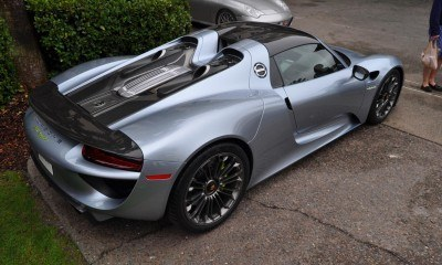 HyperCar HyperGalleries!  2015 Porsche 918 Spyder -- 77 All-New, High-Resolution Photos From All Angles 54