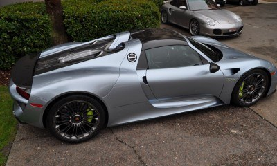 HyperCar HyperGalleries! 2015 Porsche 918 Spyder -- 77 All-New, High-Resolution Photos From All Angles 56