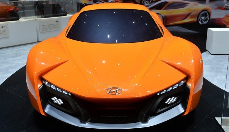Hyundai PassoCorto Sports Car Is Torino Design Vision Come to Life! Innovative Folded Surfacing + Hidden Cameras Replace Rear Glass 1