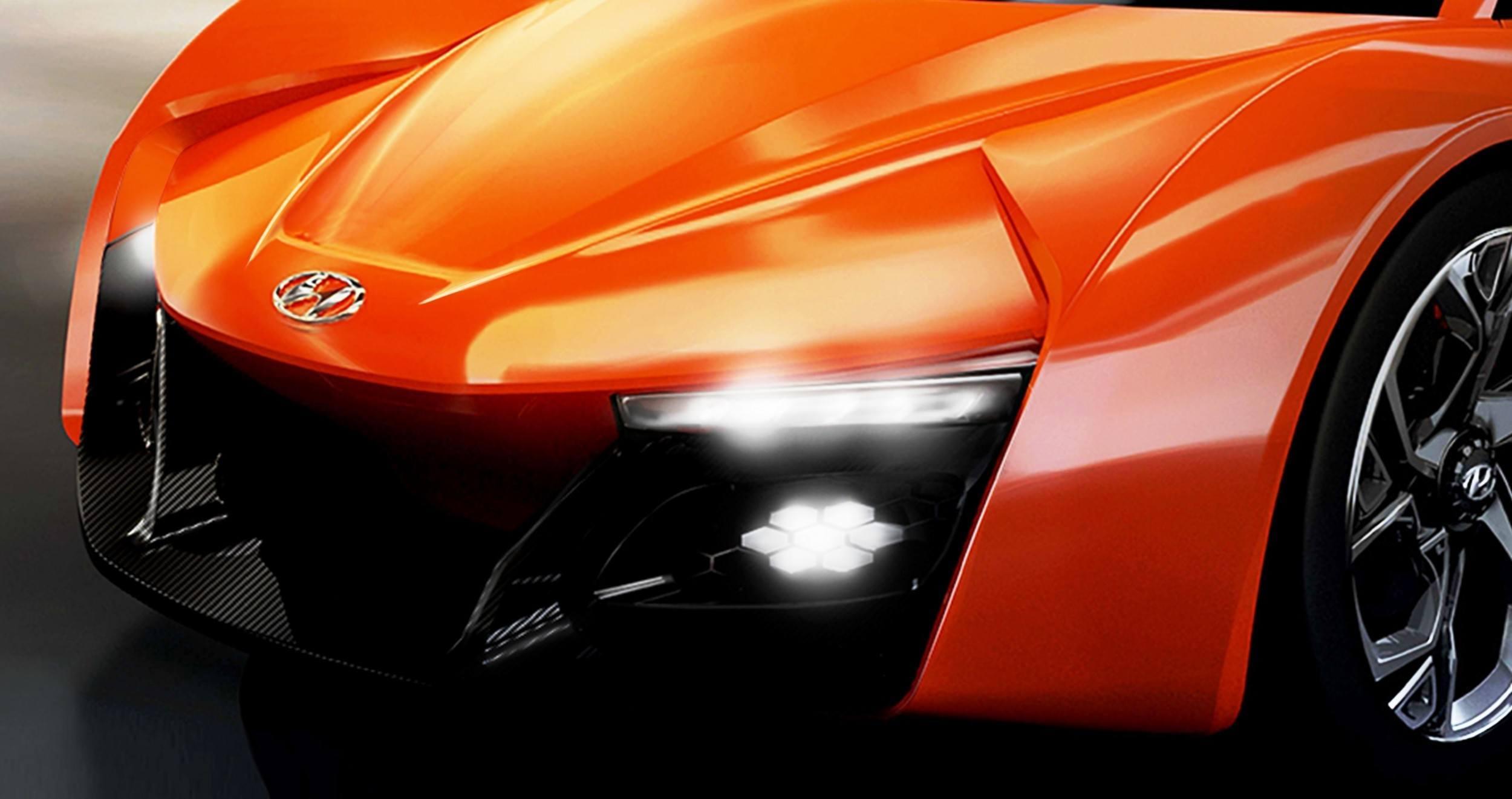 Hyundai Passocorto Sports Car Is Torino Design Vision Come To Life Innovative Folded Surfacing Hidden Cameras Replace Rear Glass 4