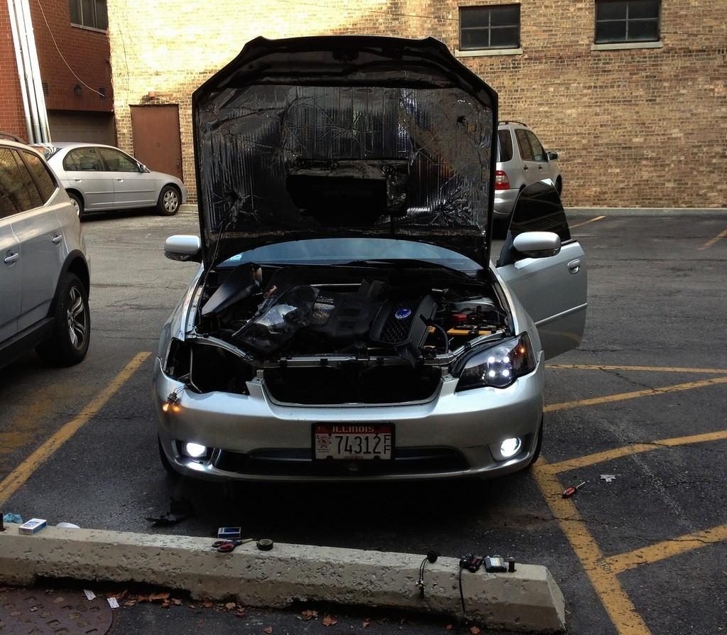 IMG_0932 subaru legacy GT - hood and fenders dynamat +_8245683910_l