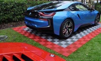 Inimitable Future-Tech 2015 BMW i8 Feeling Chummy with Concept M4 and 1980 BMW M1 -- Fleming Flashbacks 10