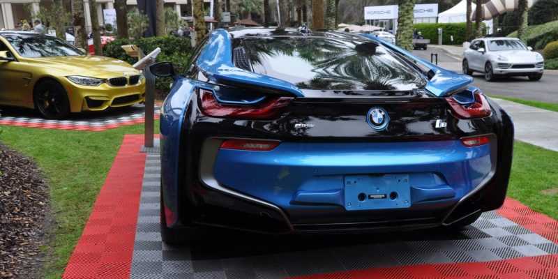 Inimitable Future-Tech 2015 BMW i8 Feeling Chummy with Concept M4 and 1980 BMW M1 -- Fleming Flashbacks 12