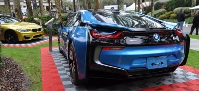 Inimitable Future-Tech 2015 BMW i8 Feeling Chummy with Concept M4 and 1980 BMW M1 -- Fleming Flashbacks 13