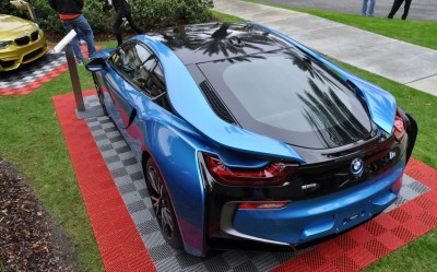 Inimitable Future-Tech 2015 BMW i8 Feeling Chummy with Concept M4 and 1980 BMW M1 -- Fleming Flashbacks 14