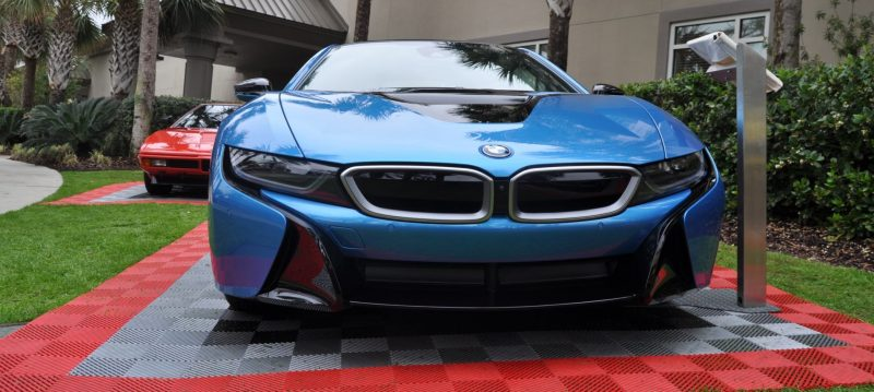 Inimitable Future-Tech 2015 BMW i8 Feeling Chummy with Concept M4 and 1980 BMW M1 -- Fleming Flashbacks 18