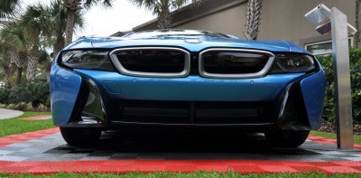 Inimitable Future-Tech 2015 BMW i8 Feeling Chummy with Concept M4 and 1980 BMW M1 -- Fleming Flashbacks 19