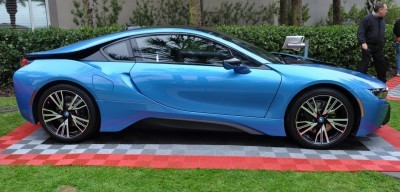 Inimitable Future-Tech 2015 BMW i8 Feeling Chummy with Concept M4 and 1980 BMW M1 -- Fleming Flashbacks 6