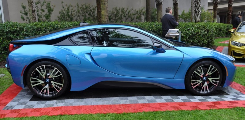 Inimitable Future-Tech 2015 BMW i8 Feeling Chummy with Concept M4 and 1980 BMW M1 -- Fleming Flashbacks 7