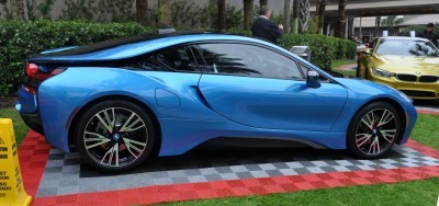Inimitable Future-Tech 2015 BMW i8 Feeling Chummy with Concept M4 and 1980 BMW M1 -- Fleming Flashbacks 8