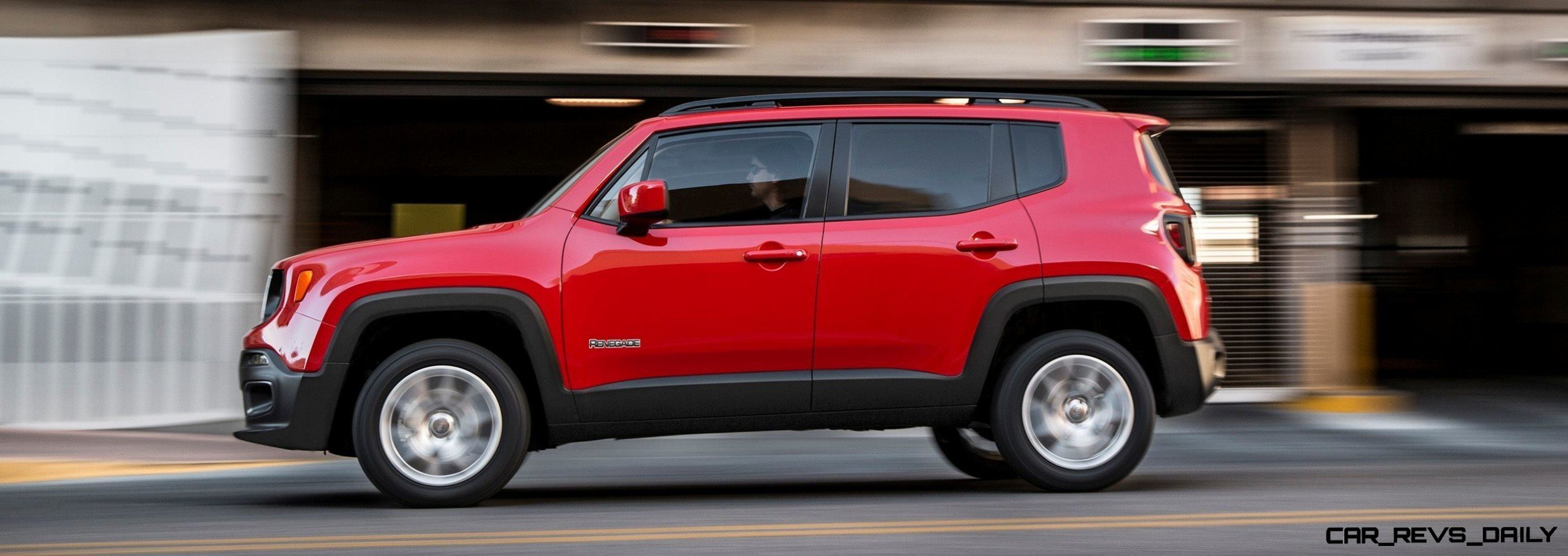all-new 2015 Renegade combines the brand's heritage with fresh new