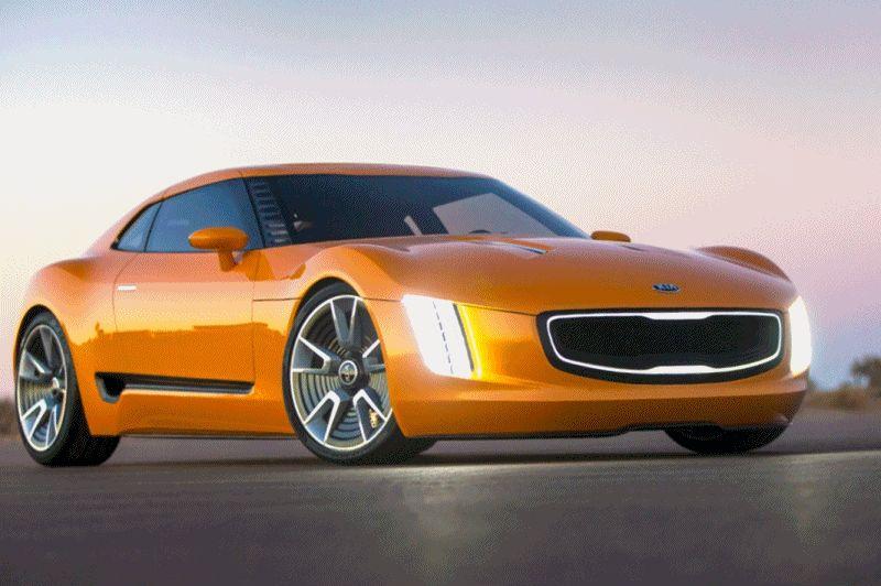 KIA GT4 STINGER Concept GIF