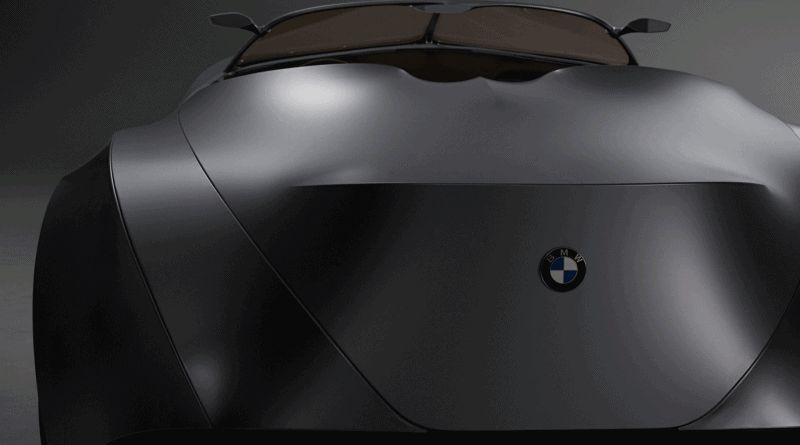 LED Taillights Animation - 2006 BMW Concept GINA - GIF