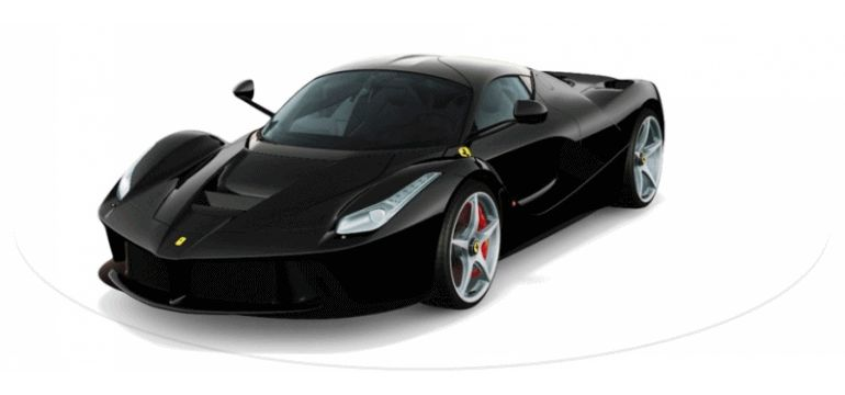 LaFerrari NERO Animated Turntable GIF