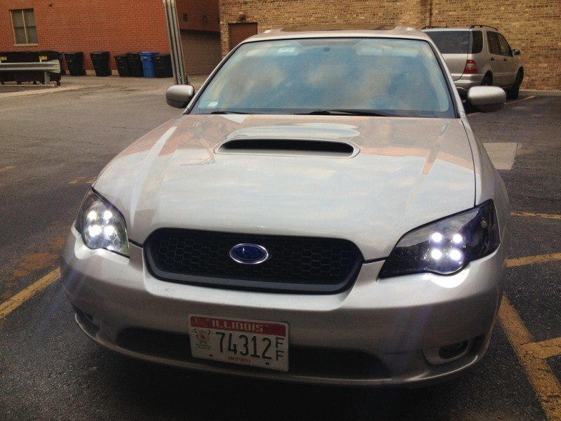 Legacy GT LED daytime running lights, LED highbeams, LED badge_8233627920_l